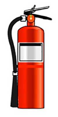 کپسول آتش نشانی مواد شیمیایی خشک