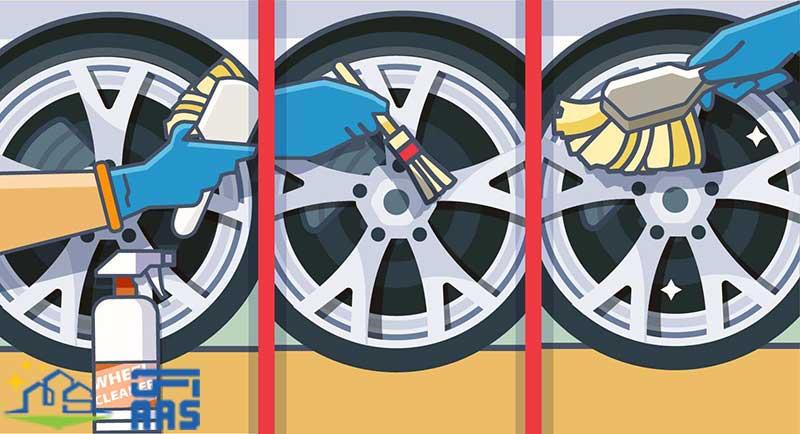 شستشوی چرخ و رینگ خودرو
